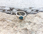 Stacking Ring / Turquoise / Mustard Seed Ring / Faith of A Mustard Seed Ring / Symbolic Ring / Inspirational Ring, Symbolic Jewelry