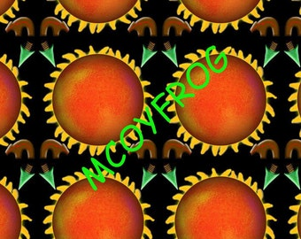 Sun worship, digital background, windows background, orange, native, southwest