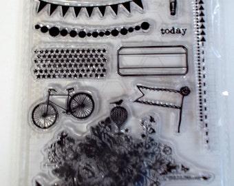 My Mind's Eye - Acrylic Stamp Set - Be Amazing