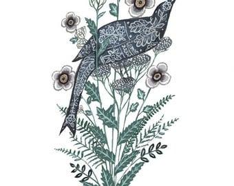 Birdsong -Print