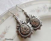 Twinkle-Twinkle, Antique Button Earrings