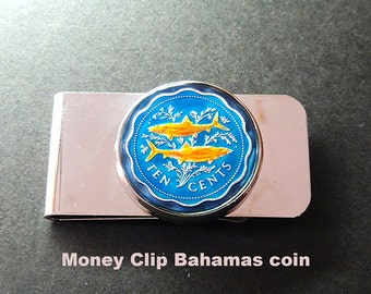 Money Clip Bahamas 10 cents