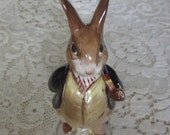"Beatrix Potter's ""Mr. Benjamin Bunny"" First Version ""Pipe Out""  Beswick England Issued 1965-1974 Mint Condition"