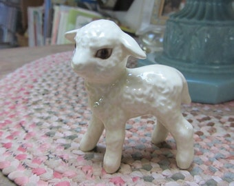 Vintage Goebel Lamb 1970s Figurine Collectible Mint Condition