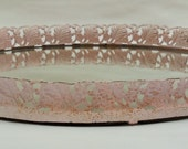 Vintage Mirrored Tray Make Up Tray Pale Pink