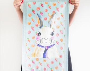 Chef Ray Rabbit Tea Towel