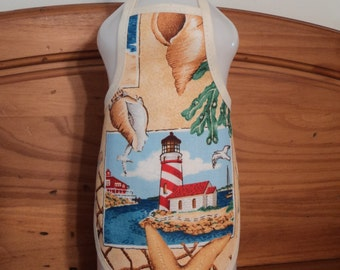 Lighthouse Soap Bottle Apron - fits 25 oz.