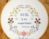 All Life Embroidery Pattern