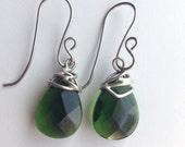 Emerald Forest Vines Earrings