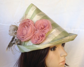 Medieval Archer Women's Robin Hood Bycocket Renaissance Faire Hat