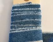 Ribbon Upcycled Blue Jean Handmade Trim