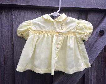 Vintage Baby Dress 3/6 Months