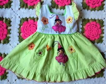 Princess Dora Dress 12 Months
