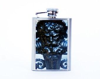FLASK- NY Photo Flask, NYC Flask, 3oz Flask, Dakota Man