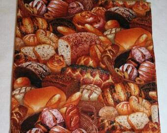 Cloth Napkins - Set of 4 - Large Dinner Napkins - Realistic Bread Napkins - Thanksgiving Napkins Table Napkin Everyday (ns16030)*