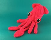 Squid - PDF amigurumi crochet pattern