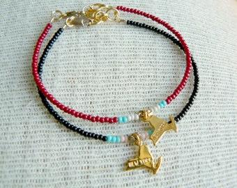 Any 50 States -  Dainty Bracelet- Charm Bracelet