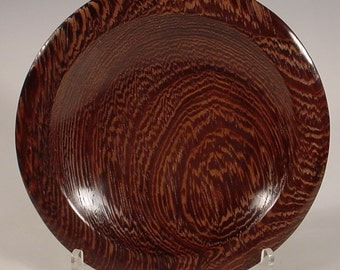 African Wenge Wood Bowl Turned Wooden Bowl Number 6044