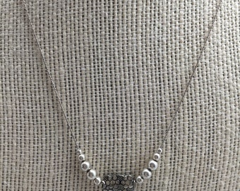 Bali and Sterlibg Silver Necklace