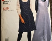 Sewing Pattern  McCall's Stitch N Save 8319  Misses' Jumpers Bust 30-36  inches Complete