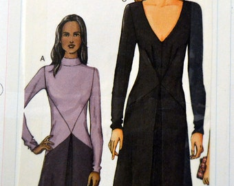 Sewing Pattern Vogue 7519 Misses' Dress Bust 30-34 inches Uncut Complete
