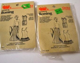 Sewing Supplies Boning 2 yard packs  In package
