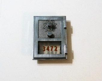 Post Office Box Door 1963 Combination Lock