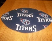 Mouse Pad NFL Tennessee Titans Football Shaped Mat
