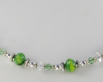 Medical Bracelet attachment only Fresh Lime for Your ID Tag - replacement bracelet