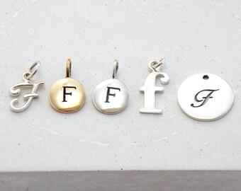 Initial Charm | Monogram, Cursive Charm, Cursive Initial, Personalized, Initial Jewelry, Personalized Jewelry, Personalized Gift