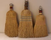 Primitive Hanging Worn Whisk Broom  Collection