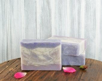 Naturelle Rose Soap | Floral Soap, Rose Soap, Essential Oil Soap, Natural Soap, Lavender, Womens Gift Soap, Gift Idea for Friend