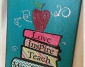 Custom Teacher's Canvas