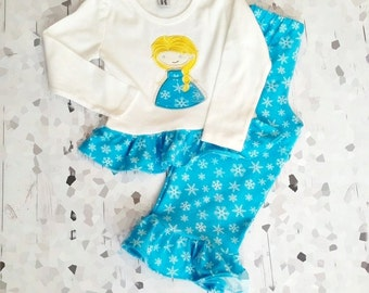 Sale - Ice Princess Applique Set