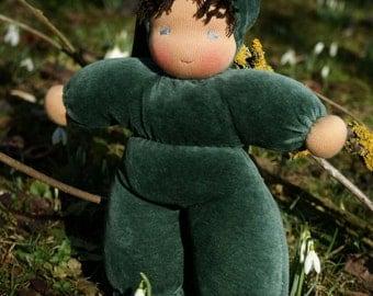 Waldorfdoll - Waldorf Doll - Cuddle Doll according to waldorf pedagogy - Waldorfdoll