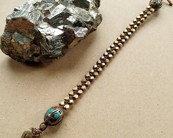Woven Tibetan Bracelet