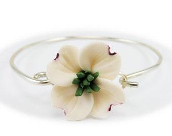 Dogwood Sterling Silver Bracelet - Dogwood Jewelry Collection
