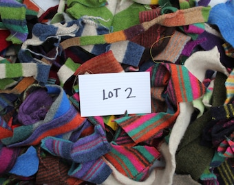Felted Wool  Scraps Lot 2