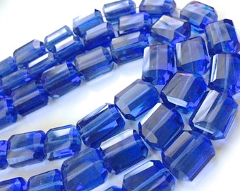 1/2 strand of electric blue hydro quartz nuggets WHOLESALE 18.00.