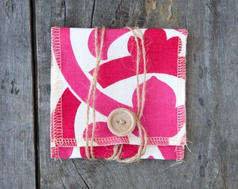 Pack of 10: Ali Pink USB Pouch