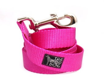 "The Cullen dog leash 6' long (1"" width) *NEW COLOR*"