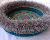 Spicoli's Hand Crocheted Cat Bed (no. 1542)