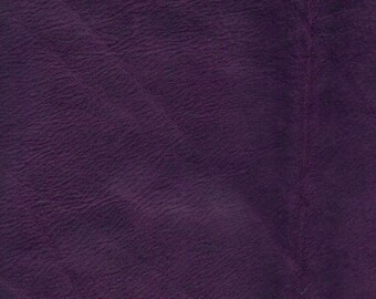 EGGPLANT NUBUK - soft French nubuk - choose this leather for selected bags