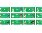 Appalachian State Football Schedule Planner Stickers