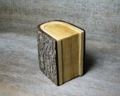 Book of Love - Original Natural Rustic Engagement or Wedding Ring or Trinket Box by Tanja Sova