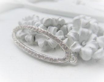 Cubic Zirconia Bracelet Connector Bridal Jewelry Wedding Jewelry Bridesmaids Item No. 2070 7050
