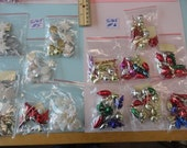Choose your Christmas Charms Mini Ornaments  72 to 90 pcs. S 165