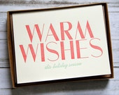 Warm Wishes Holiday Card (Boxed Set)