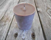 Chocolate Hemp Wick Soy Candle Votives Eco Friendly