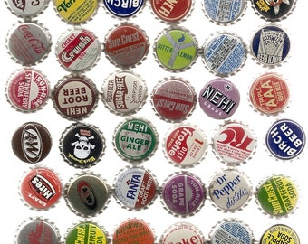 85 Unused Old SODA ,CORKS, BOTTLECAPS Collection
